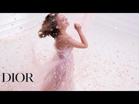 Natalie Portman for Miss Dior Rose N'Roses, the new fragrance