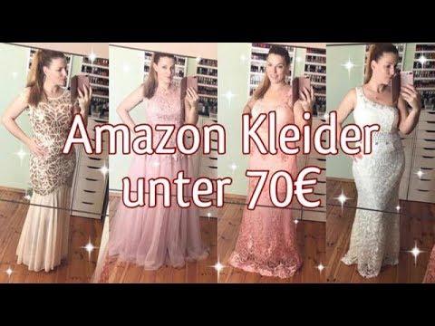 5 Festliche Glamouröse Kleider von Amazon für unter 70€!