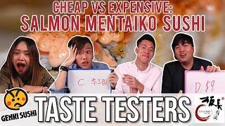 Video CHEAP VS EXPENSIVE SALMON MENTAIKO SUSHI | Taste Testers | EP 48 MP3, 3GP, MP4, WEBM, AVI, FLV Desember 2018