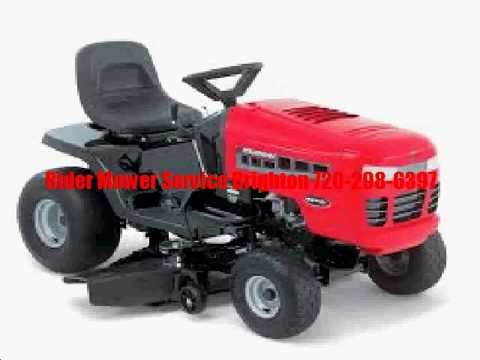 Mobile Riding Mower Repair Service Brighton – 720-298-6397