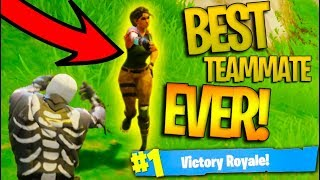 THE GREATEST RANDOM IN FORTNITE BATTLE ROYALE HISTORY! *Victory Royale!*