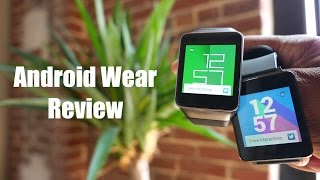 Android Wear Review! (Samsung Gear Live and LG G Watch) - YouTube