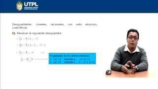 UTPL DESIGUALDADES [(INFORMÁTICA )(FUNDAMENTOS MATEMÁTICOS)]