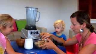 Raw Ice Cream For Kids Using Optimum Blender