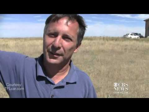 Tim Samaras gives a tour of a storm chaser's truck