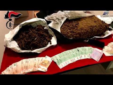 Droga, sorpresi con 7 kg di marijuana e 20mila euro in casa: arrestati