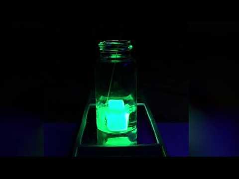 Plastic Hair Helps Make Perovskite LEDs Virtually Waterproof