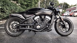 9. 2018 Indian Scout Bobber GP Style Exhaust Sound Clip/Drive By