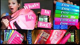 Whats in my book bag?!   Highschool 2016