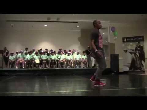 "Fik-shun celebrates National Dance Day in Greensboro with ""off the hook"" solo performance"