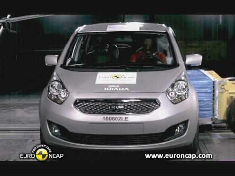 Kia Venga euroncap çarpışma / güvenlik testi videosu