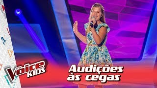 Fabiana Moneró canta 'Will I See You' na Audição – 'The Voice Kids Brasil' | 3ª Temporada