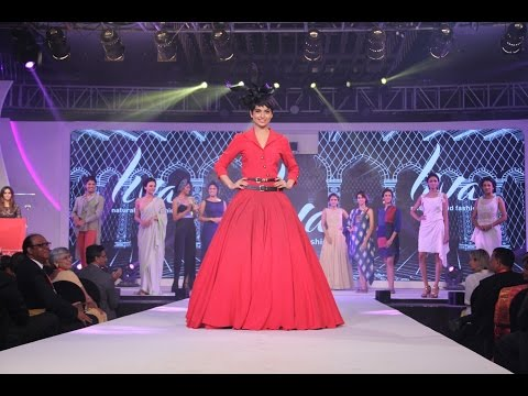 Kangna Ranaut As A ShowStopper And Launch The Liva's New Fabric Brand