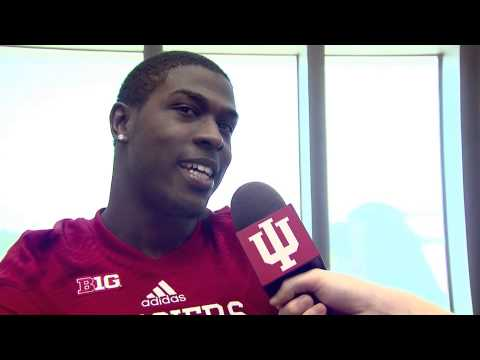 Tevin Coleman Interview 8/4/2014 video.