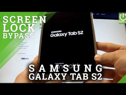Hard Reset SAMSUNG Galaxy Tab S2 8.0 - bypass lock screen pattern