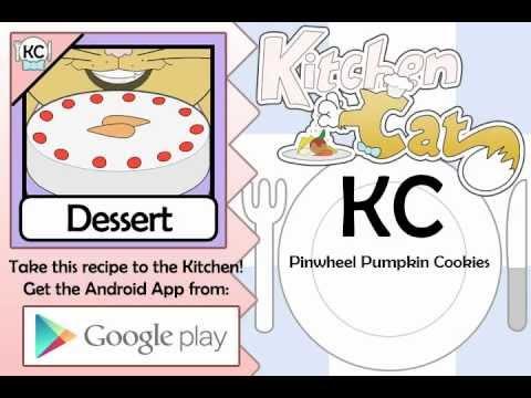 Video of KC Pinwheel Pumpkin Cookies