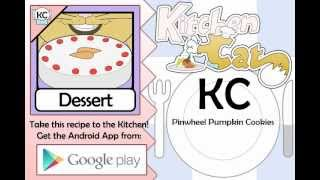 KC Pinwheel Pumpkin Cookies YouTube video
