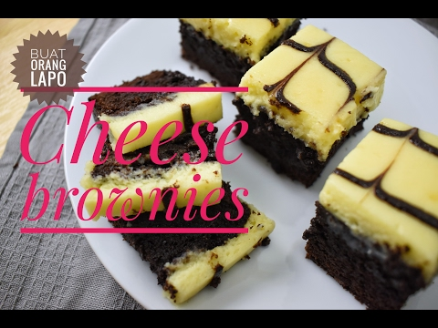 Cheese brownies | Brownies Keju