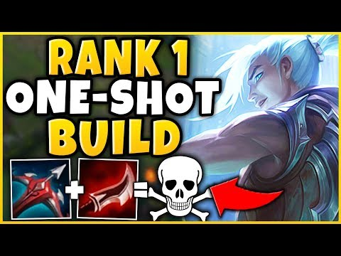 #1 KAYN WORLD ULTIMATE ONE-SHOT BUILD (BEST POSSIBLE BUILD) - League Of Legends