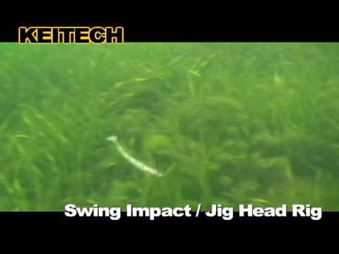 "Keitech Swing Impact 4"" (10cm) videó"
