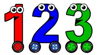 """""""Numbers 1 to 10 Chant"""" - Learn to Count English Numbers, Baby Toddler Learning Nursery Rhymes"""