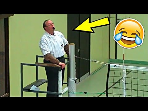 Funny videos - Funniest Referee Ever !? Funny Volleyball Videos (HD)