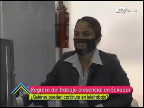 Regreso del trabajo presencial en Ecuador ¿Quiénes pueden continuar en teletrabajo?