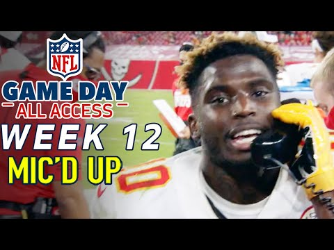 """NFL Week 12 Mic'd Up, """"Help is on the way!"""" 