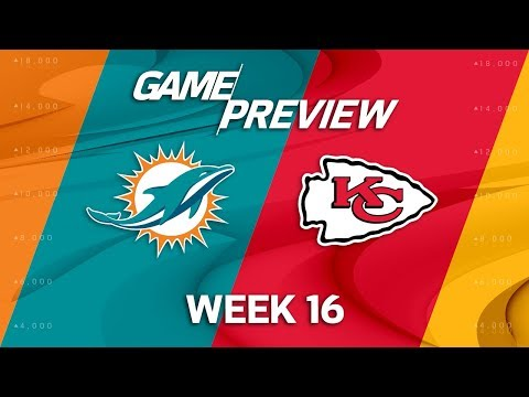 Video: Miami Dolphins vs. Kansas City Chiefs | NFL Week 16 Game Preview | NFL Playbook