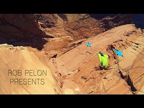 Wingsuit Base Jumping: Red Rock Edition