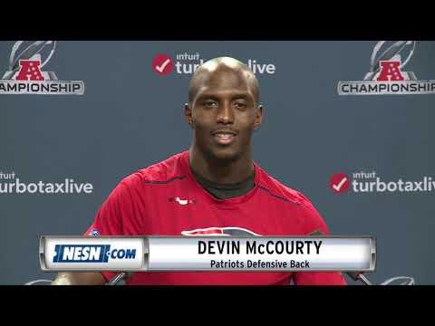Video: Devin McCourty Patriots vs. Chiefs AFC Championship Press Conference