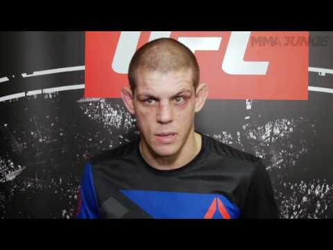 Joe Lauzon still disappointed with his win at UFC Fight Night 103 (видео)