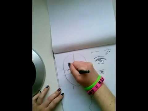 Manga Augen zeichnen – My way :D