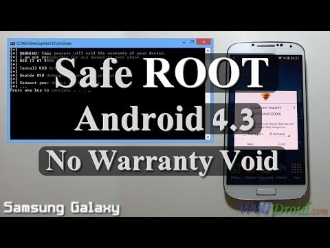 4.3 - How to Root Samsung galaxy S3 / S4 / Note on Android 4.3 without voiding warranty or losing data. No tripping binary or KNOX WARRANTY counter Credit goes to ...