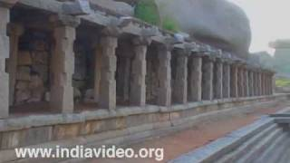Hospet India  City pictures : Old Bazaar Hampi Bellari Hospet Karnataka India