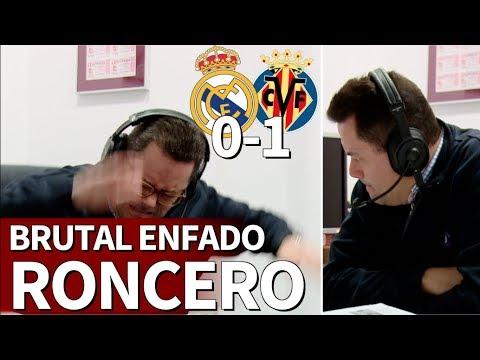 Real Madrid 0-1 Villarreal |Roncero entró en cólera con el 0-1: acabó hundido | Diario AS