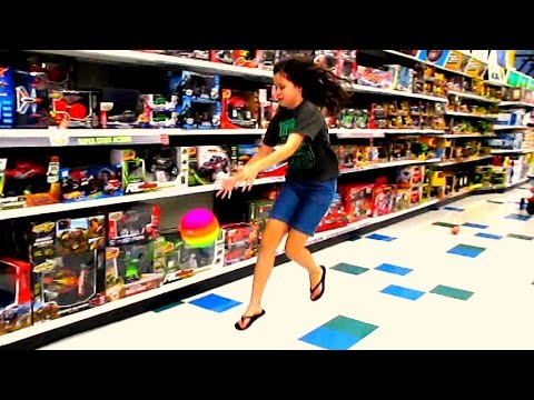 Toy Store - Playing In The Toy Store (9.15.14 - Day 1593) We went to Toys R Us today and played with toys!!! QUESTION OF THE DAY: GamingRebel If you could only live on o...