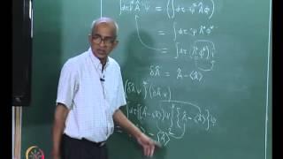 Mod-05 Lec-32 Generalized Uncertainty Principle - Continued