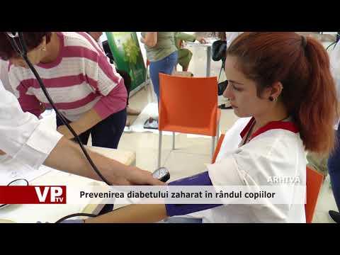 Prevenirea diabetului zaharat în rândul copiilor