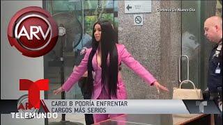 Cardi B podría enfrentar cargos legales más serios | Al Rojo Vivo