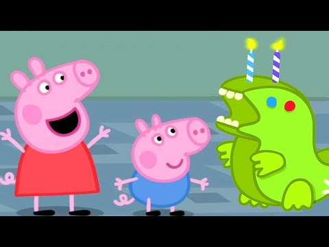 Peppa Pig Official Channel 🎂 Peppa Pig Celebrates George Pig's Birthday