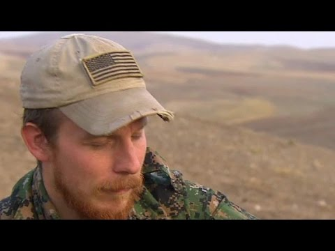 American leaves U.S. to fight ISIS