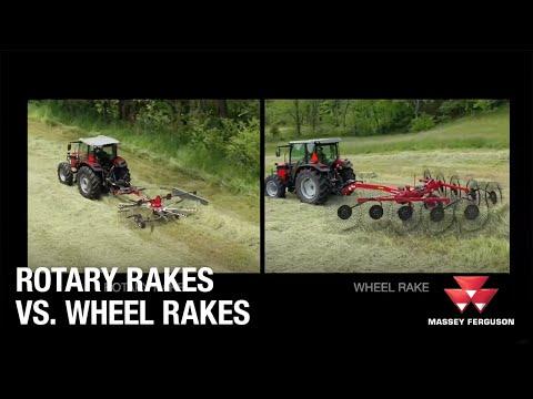 MF Rotary Rakes vs. Wheel Rakes | Hay & Forage | Overview