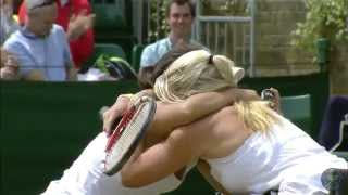 Highlights Day 13: Wheelchair Ladies' Doubles Final - Wimbledon 2014