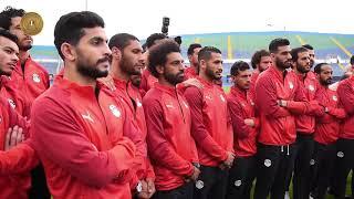 شاهد حوار الرئيس السيسي مع لاعبي منتخب مصر قبل بدء كأس الأمم الأفريقية