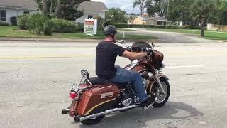 7. 2008 Harley Davidson Electra Glide Ultra Classic Screamin' Eagle FLHTCUSE (copper-black) 2500 Falle