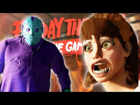 RETRO JASON: THE GAME SHOW!! • Friday the 13th: The Game