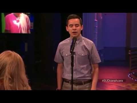 David Archuleta 02 Más Cerca, Dios, De Ti (nearer My God To Thee) @ Live Chat (24 June 2014)