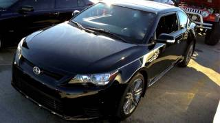 2011 Scion TC 6AT Start Up, Quick Tour,&Rev With Exhaust View - 7K