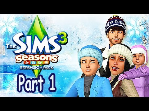The Sims - The Sims 3 Seasons Gameplay: We create are family and move them in , We experiance are first taste of weather . i did not copy anyone . Literally right whe...